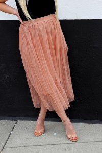 This skirt is from Zara and was only $35. YES. Sign me up for anything pink and princess-y.